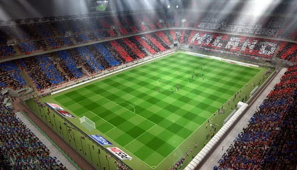 Match night, stadio San Siro