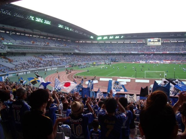 Match Day Yokohama Stadium, Agen Judi Bola Casino CBO855 Royal928