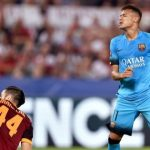 Roma All-out Tahan Imbang Barcelona