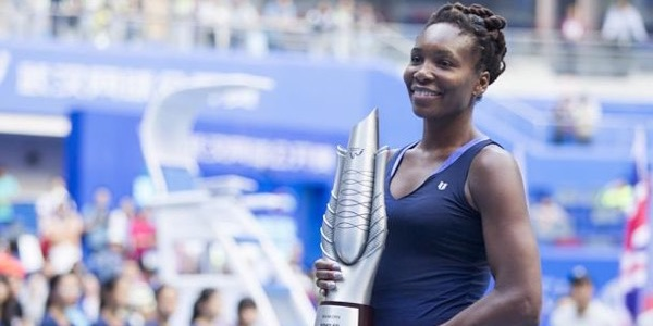 Venus Williams juara Wuhan Open 2015