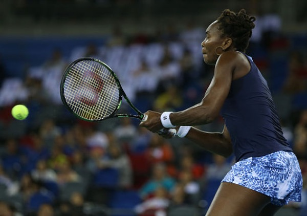 Venus Williams lolos ke final Wuhan Open 2015