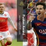 Lionel Messi dan David Ball masuk Nominasi Puskas Award