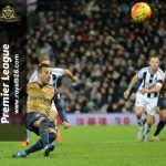 West Brom tundukkan Arsenal 2-1
