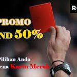 Promo Red Card 50%