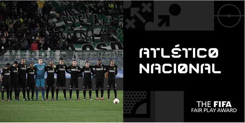 Atletico Nacional Nominator Tim Fair Play Versi FIFA 2016